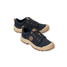 AIGLE Canvaas-Sneaker Navy