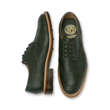 Derby-Brogue-Schuh in Racing Green