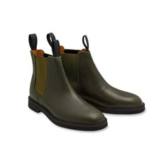 Chelsea Boots in Oliv