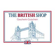 THE BRITISH SHOP Gutschein