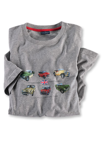 Robertson-T-Shirt 'British Cars'