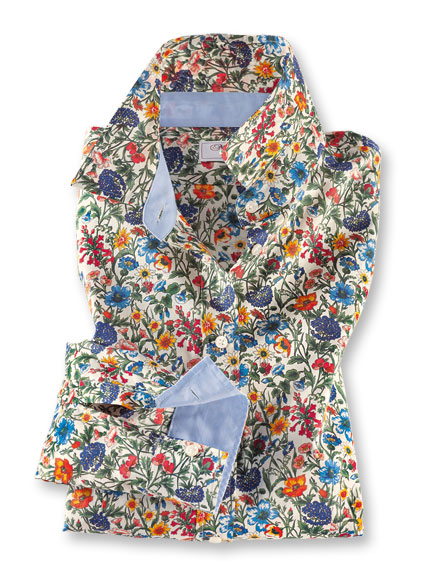 Libertybluse 'Flowery Field' von Mayfair
