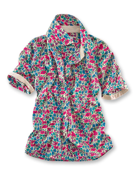 Liberty-Bluse 'Poppy & Daisy' von Mayfair