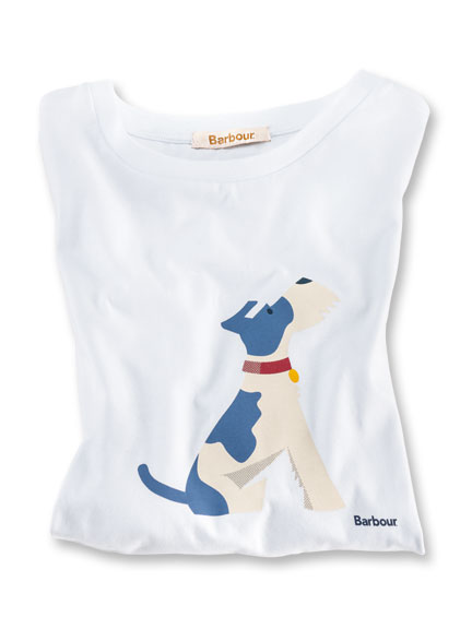 Barbour T-Shirt 'Good Dog'
