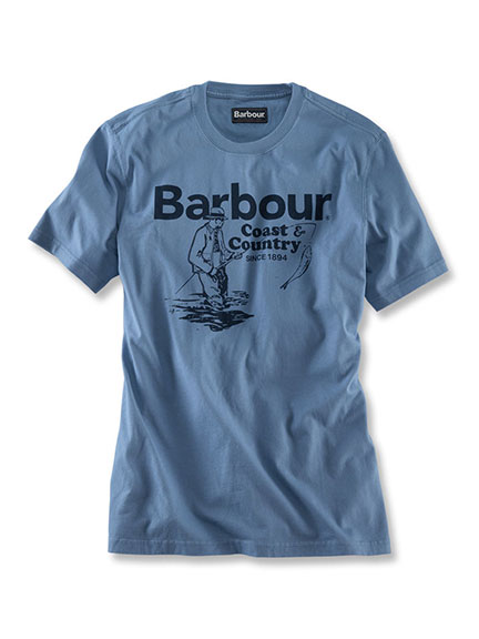 Fisherman'-Shirt von Barbour in Admiral Blue