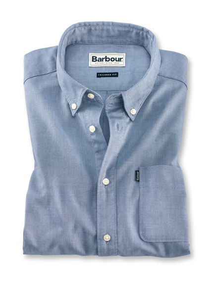 Barbour-Oxfordhemd 'Endsleigh' in Hellblau