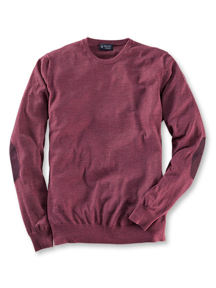 Hackett-Pullover im modernen Brit Style in Heather