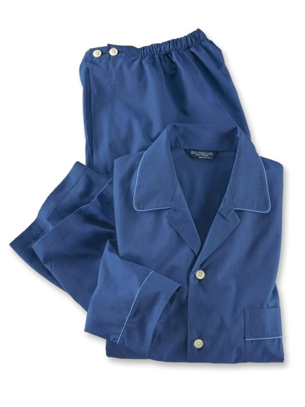 Klassischer 'Gentleman Pyjama' in Royalblue von Bonsoir