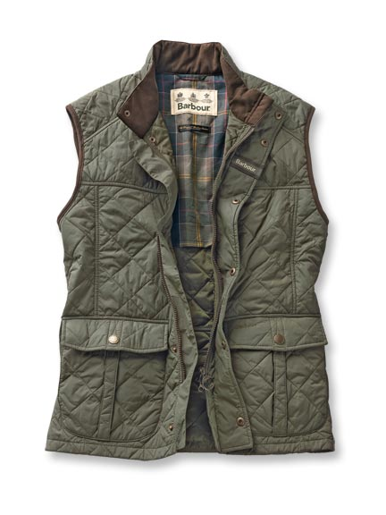 Barbour-Weste 'Explorer' in English Green
