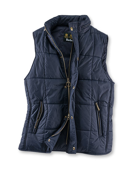 Barbour-Steppweste 'Roper Gilet' in Navy