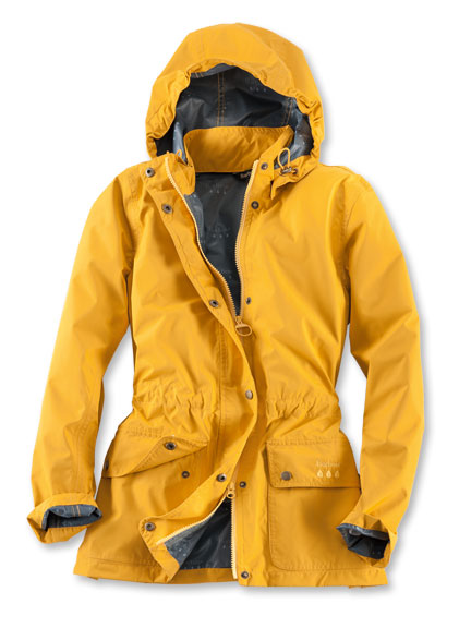 Barbour-Jacke 'Cirruss' in Canary Yellow