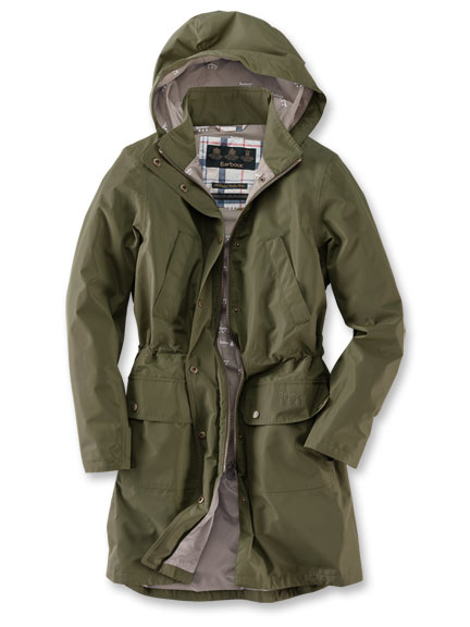 Barbour-Parka 'Cloud' in Schilf