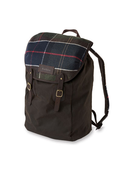 Tartan Wax Backpack von Barbour
