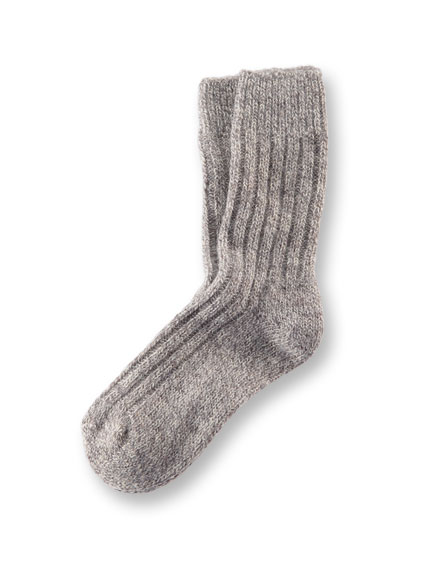 Original 'Jacobs Sheep'-Socken in Beige-Grau