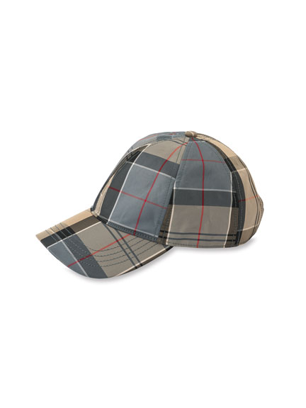 Baseball-Kappe im Dress Tartan