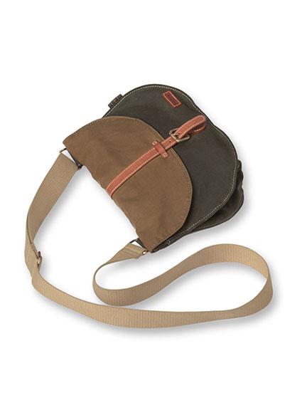 Barbour-Tasche 'Helsby Cross Body' in Olive und Sandstone