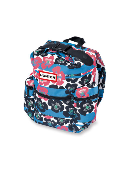 Rucksack 'Flowers and Stripes' von Hunter