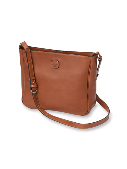 Exquisite Ledertasche in Cognac von Bric's