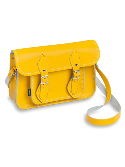 Zatchels 'Satchel Bag' in Yellow