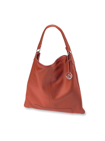 Schultertasche 'Bradford' in Red Brown von Kensington