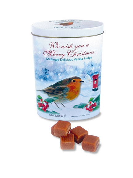 Vanilla Fudge 'Robin Christmas Tin'