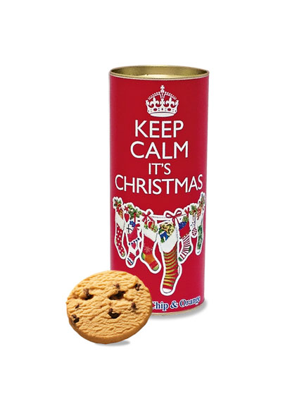 Keks-Dose 'Keep calm it's Christmas'