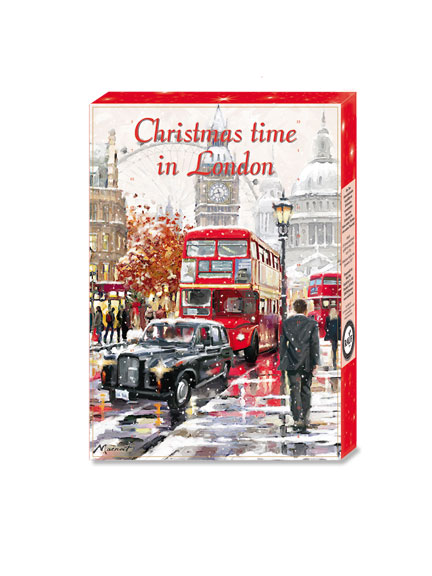 Tee-Adventskalender 'Christmas Time in London'