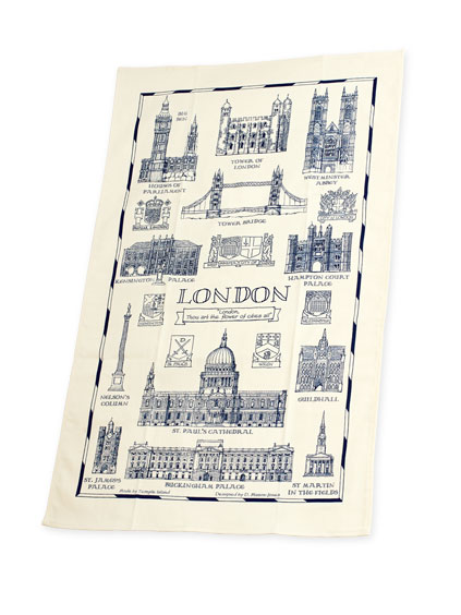 Geschirrtuch 'London Heritage Collection'