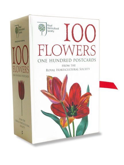 100 Flowers - One Hundred Postcards