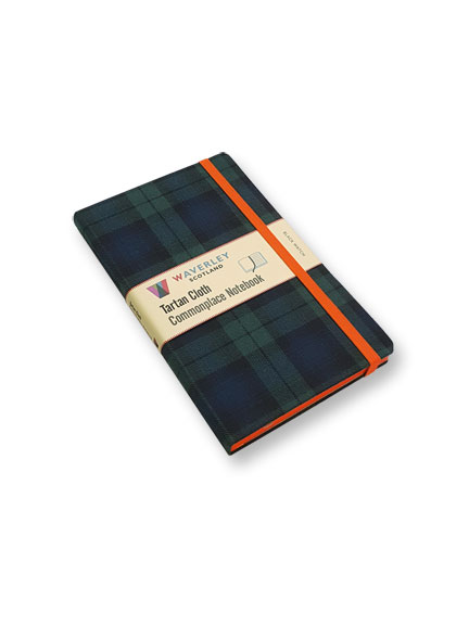Notizbuch 'Black Watch' von Commonplace Notebooks