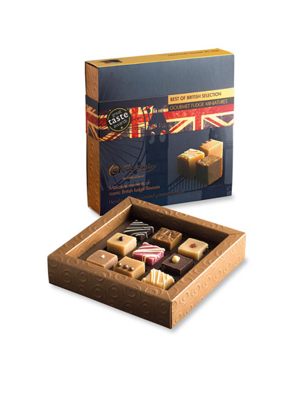 Gourmet Fudge Miniaturen - Best of British Selection