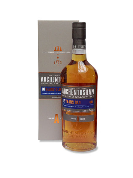 Auchentoshan 18 Years Old - Triple Distilled Lowland Malt