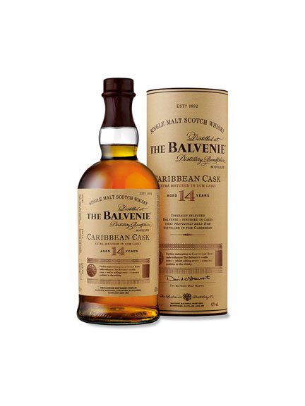 The Balvenie 'Caribbean Cask' - 14 Years Old Scotch Whisky