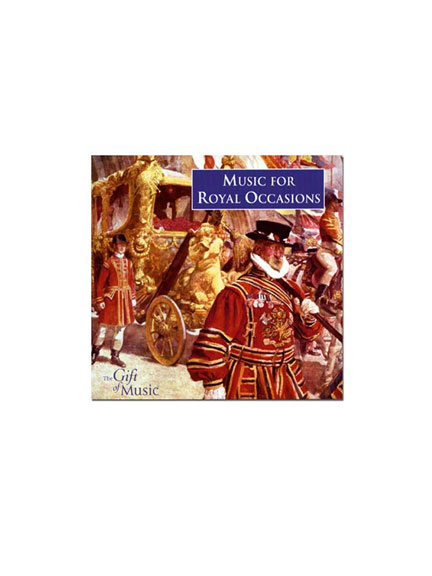 CD 'Music for Royal Occasions'
