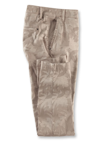 Robertson-Chino 'Blossom & Leave' in Beige