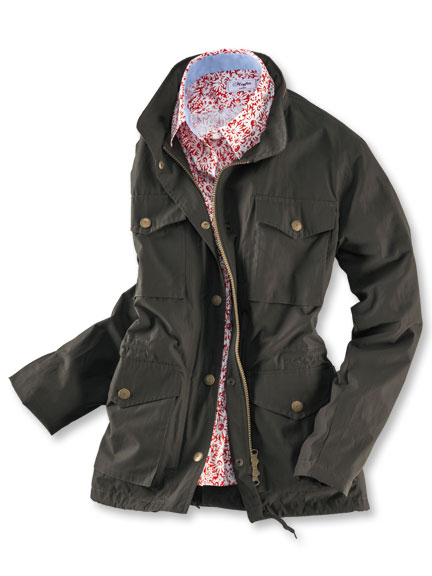 Sommerparka 'Rosefield' in Oliv von Wellington of Bilmore