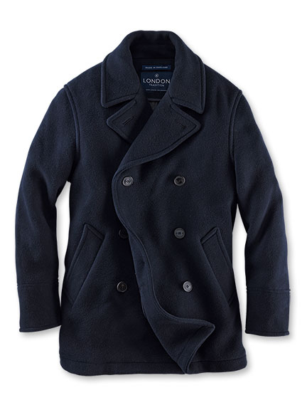 Original 'Reever Jacket' in Navy von London Tradition