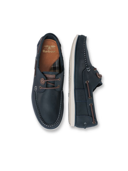 Barbour-'Boatshoe' f�r Herren in Navy