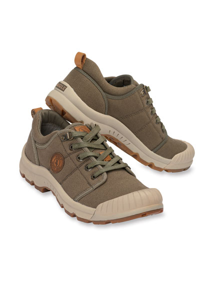 Walkingschuh in Khaki von Aigle