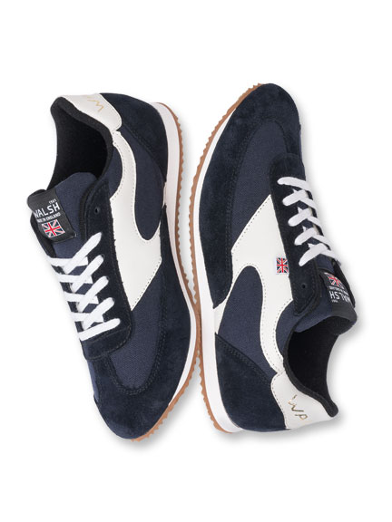 Sneaker in Navy von Norman Walsh