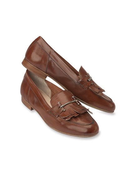 College-Slipper in Cognac von Kensington