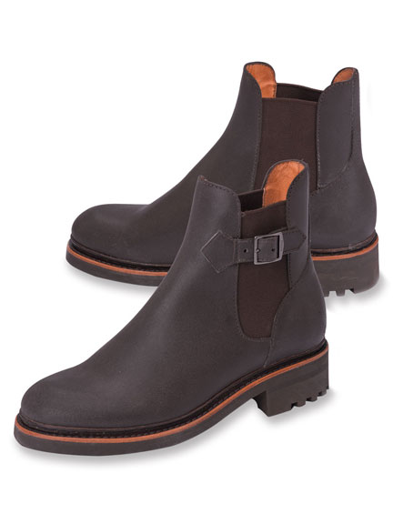 Chelsea-Boots in Dark Brown von Aigle