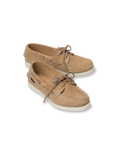 Sebago-Bootsschuh in Sand
