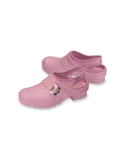 Garten-Clogs in Rosa von Hunter