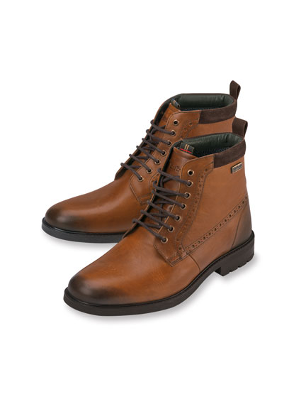 Barbour-Boots im 'Antik-Finish' in Braun